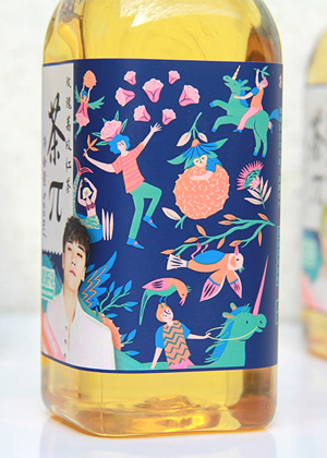 Nongfu Spring packaging design