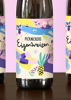 Foodbar Picknickers beer label
